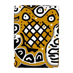 Yellow high art abstraction Samsung Galaxy Note 10.1 (P600) Hardshell Case