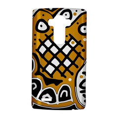 Yellow high art abstraction LG G4 Hardshell Case