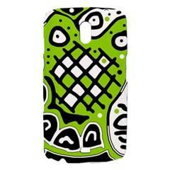 Green high art abstraction Samsung Galaxy Nexus i9250 Hardshell Case