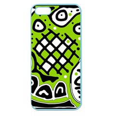 Green high art abstraction Apple Seamless iPhone 5 Case (Color)