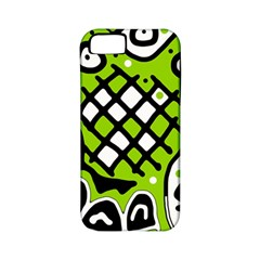 Green high art abstraction Apple iPhone 5 Classic Hardshell Case (PC+Silicone)