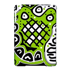 Green high art abstraction Apple iPad Mini Hardshell Case (Compatible with Smart Cover)