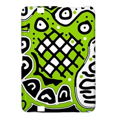 Green high art abstraction Kindle Fire HD 8.9