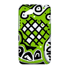 Green high art abstraction HTC Desire VC (T328D) Hardshell Case