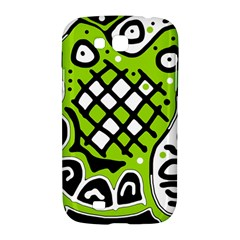Green high art abstraction Samsung Galaxy Grand GT-I9128 Hardshell Case