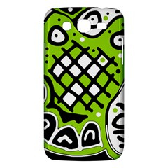 Green high art abstraction Samsung Galaxy Mega 5.8 I9152 Hardshell Case
