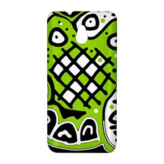 Green high art abstraction HTC One Mini (601e) M4 Hardshell Case