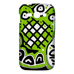 Green high art abstraction Samsung Galaxy Ace 3 S7272 Hardshell Case