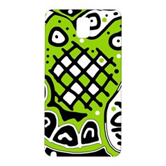 Green high art abstraction Samsung Galaxy Note 3 N9005 Hardshell Back Case
