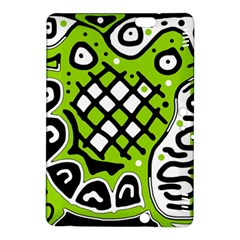 Green high art abstraction Kindle Fire HDX 8.9  Hardshell Case