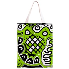 Green high art abstraction Classic Light Tote Bag