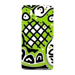 Green high art abstraction Samsung Galaxy Alpha Hardshell Back Case
