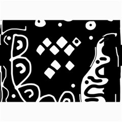 Black and white high art abstraction Collage Prints