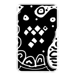 Black and white high art abstraction Memory Card Reader