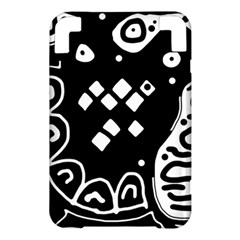 Black and white high art abstraction Kindle 3 Keyboard 3G