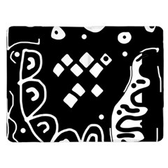 Black and white high art abstraction Kindle Fire (1st Gen) Flip Case