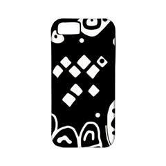 Black and white high art abstraction Apple iPhone 5 Classic Hardshell Case (PC+Silicone)