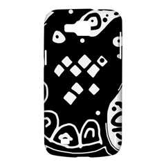 Black and white high art abstraction Samsung Galaxy Premier I9260 Hardshell Case