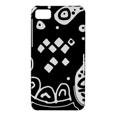Black and white high art abstraction BlackBerry Z10