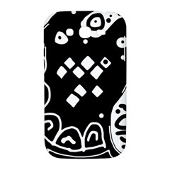 Black and white high art abstraction Samsung Galaxy Grand DUOS I9082 Hardshell Case