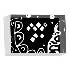 Black and white high art abstraction 4 x 6  Acrylic Photo Blocks