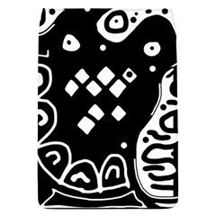 Black and white high art abstraction Flap Covers (S)