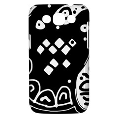 Black and white high art abstraction Samsung Galaxy Win I8550 Hardshell Case