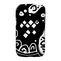 Black and white high art abstraction Samsung Galaxy Grand GT-I9128 Hardshell Case