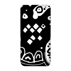 Black and white high art abstraction HTC One Mini (601e) M4 Hardshell Case
