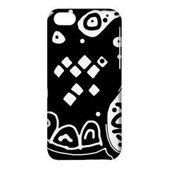Black and white high art abstraction Apple iPhone 5C Hardshell Case