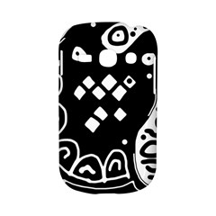 Black and white high art abstraction Samsung Galaxy S6810 Hardshell Case