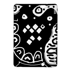 Black and white high art abstraction Kindle Fire HDX 8.9  Hardshell Case