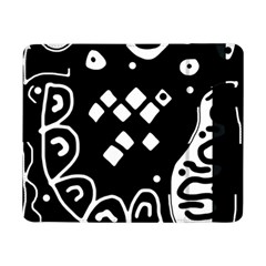 Black and white high art abstraction Samsung Galaxy Tab Pro 8.4  Flip Case