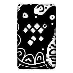 Black and white high art abstraction Samsung Galaxy Tab 4 (8 ) Hardshell Case