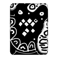 Black and white high art abstraction Samsung Galaxy Tab 4 (10.1 ) Hardshell Case