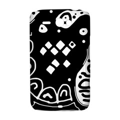 Black and white high art abstraction HTC ChaCha / HTC Status Hardshell Case