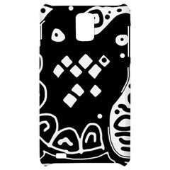 Black and white high art abstraction Samsung Infuse 4G Hardshell Case