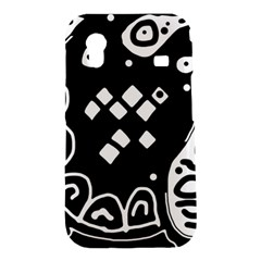 Black and white high art abstraction Samsung Galaxy Ace S5830 Hardshell Case