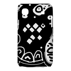 Black and white high art abstraction Samsung Galaxy SL i9003 Hardshell Case