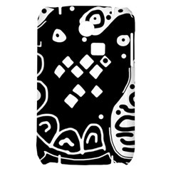 Black and white high art abstraction Samsung S3350 Hardshell Case