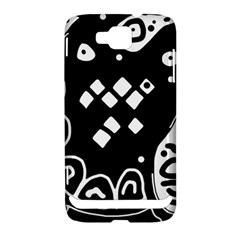 Black and white high art abstraction Samsung Ativ S i8750 Hardshell Case