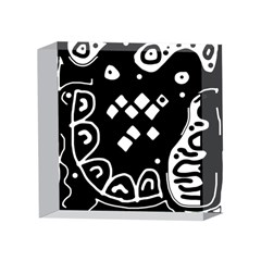 Black and white high art abstraction 4 x 4  Acrylic Photo Blocks