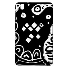 Black and white high art abstraction Samsung Galaxy Tab Pro 8.4 Hardshell Case