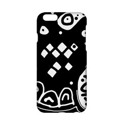 Black and white high art abstraction Apple iPhone 6/6S Hardshell Case