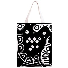 Black and white high art abstraction Classic Light Tote Bag