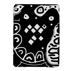 Black and white high art abstraction iPad Air 2 Hardshell Cases