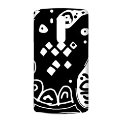 Black and white high art abstraction LG G3 Back Case