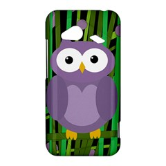 Purple owl HTC Droid Incredible 4G LTE Hardshell Case