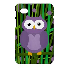 Purple owl Samsung Galaxy Tab 7  P1000 Hardshell Case