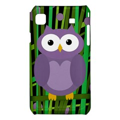 Purple owl Samsung Galaxy S i9008 Hardshell Case